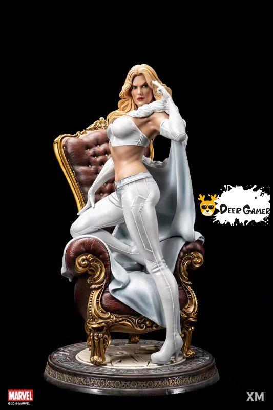XM Studios漫威漫畫《X戰警》白皇后 1:4雕像 1