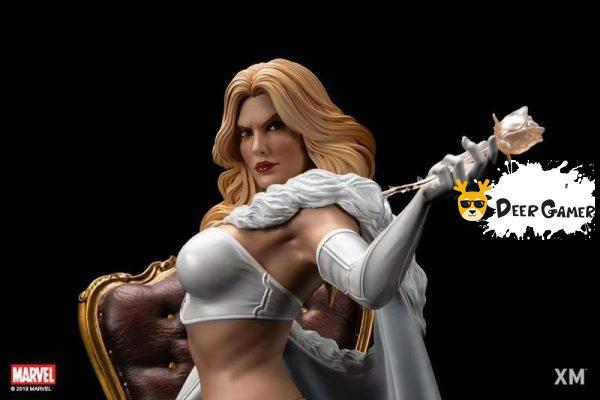 XM Studios漫威漫畫《X戰警》白皇后 1:4雕像 4