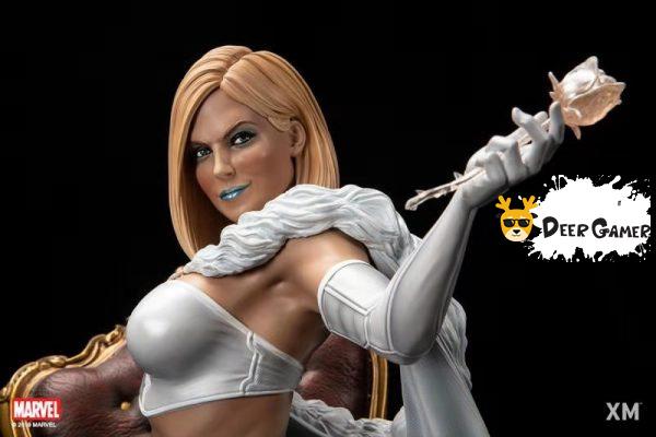 XM Studios漫威漫畫《X戰警》白皇后 1:4雕像 5