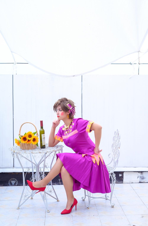 《JoJo的奇妙冒險》女裝佬大龍舌蘭姑娘 4