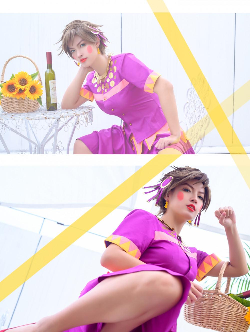 《JoJo的奇妙冒險》女裝佬大龍舌蘭姑娘 5