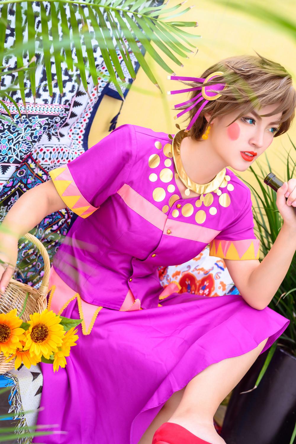 《JoJo的奇妙冒險》女裝佬大龍舌蘭姑娘 6