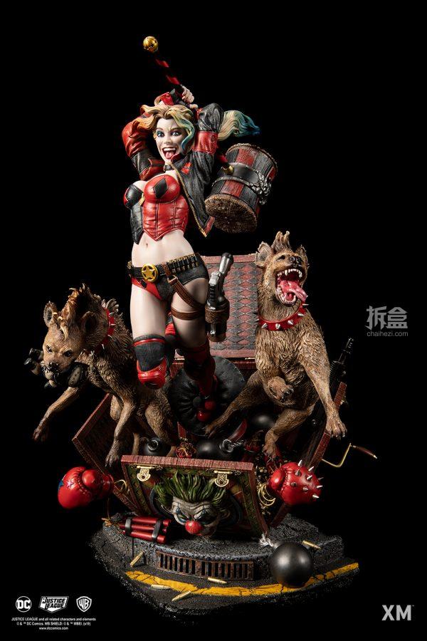 XM Studios DC漫畫 小丑女1:6雕像 1