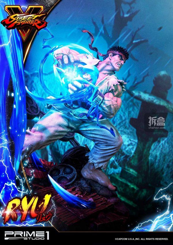 Prime 1 Studio《街頭霸王5》Ryu隆20寸雕像 11