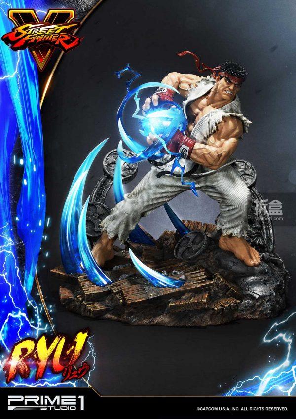 Prime 1 Studio《街頭霸王5》Ryu隆20寸雕像 12