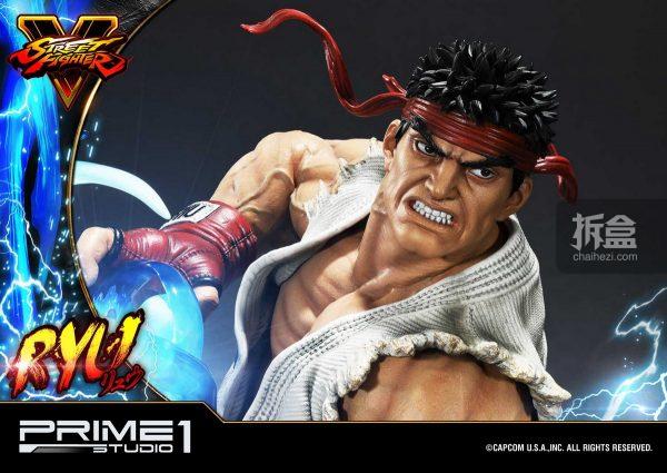 Prime 1 Studio《街頭霸王5》Ryu隆20寸雕像 28