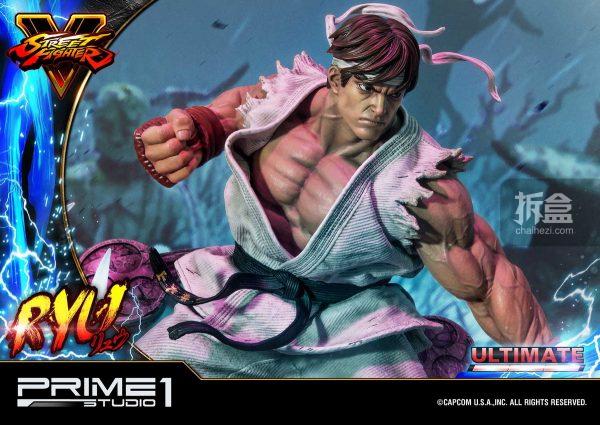 Prime 1 Studio《街頭霸王5》Ryu隆20寸雕像 49