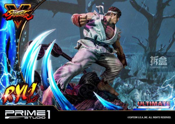 Prime 1 Studio《街頭霸王5》Ryu隆20寸雕像 54