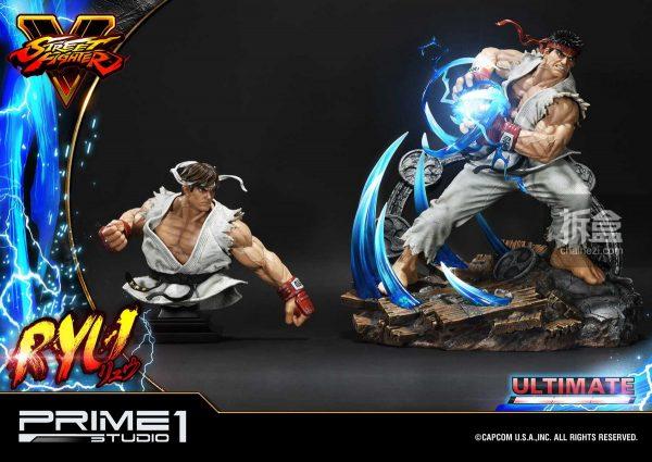 Prime 1 Studio《街頭霸王5》Ryu隆20寸雕像 72