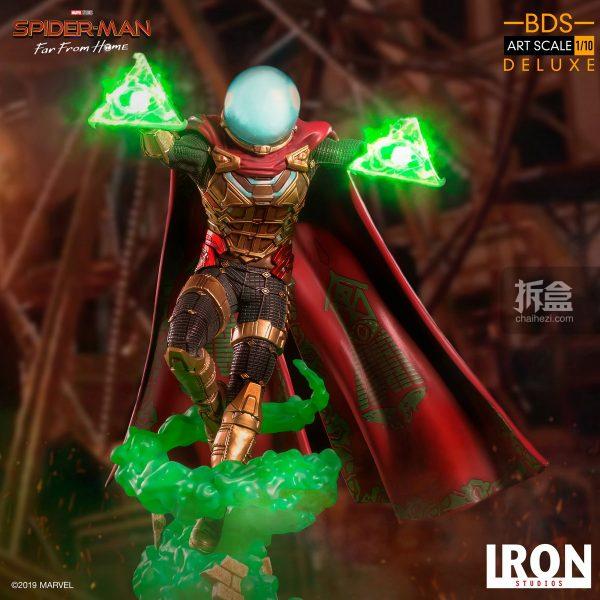 Iron Studios 漫威電影《蜘蛛俠:英雄遠征》神秘客1:10雕像 1
