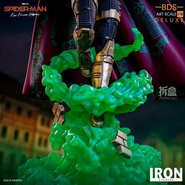 Iron Studios 漫威電影《蜘蛛俠:英雄遠征》神秘客1:10雕像 2