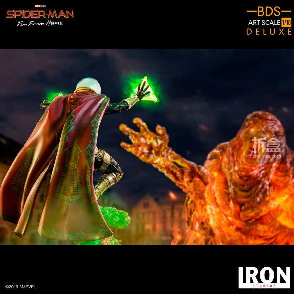 Iron Studios 漫威電影《蜘蛛俠:英雄遠征》神秘客1:10雕像 3