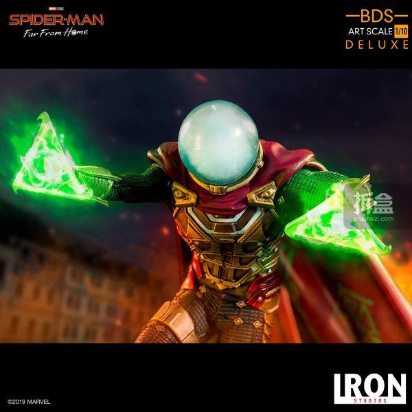 Iron Studios 漫威電影《蜘蛛俠:英雄遠征》神秘客1:10雕像 4