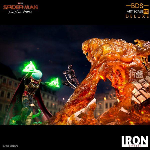 Iron Studios 漫威電影《蜘蛛俠:英雄遠征》神秘客1:10雕像 5