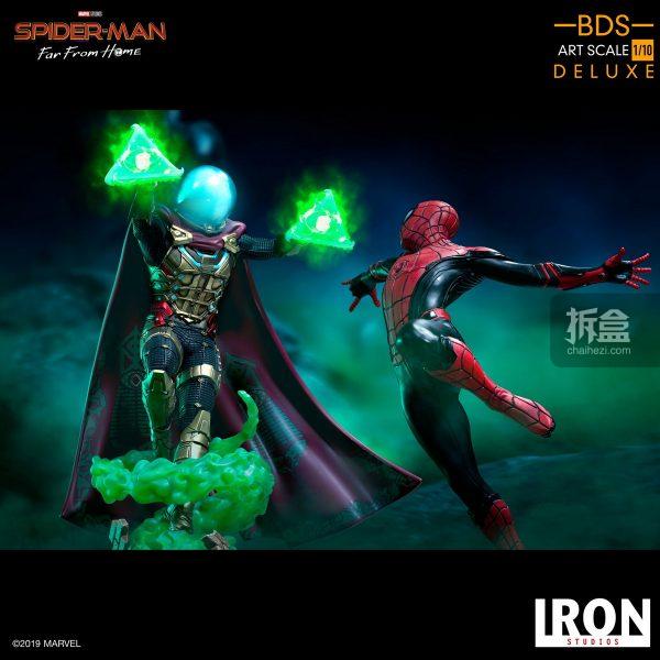 Iron Studios 漫威電影《蜘蛛俠:英雄遠征》神秘客1:10雕像 6