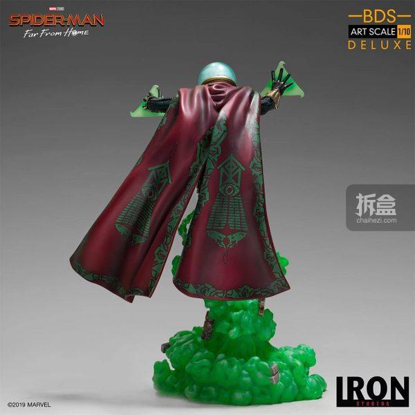 Iron Studios 漫威電影《蜘蛛俠:英雄遠征》神秘客1:10雕像 9