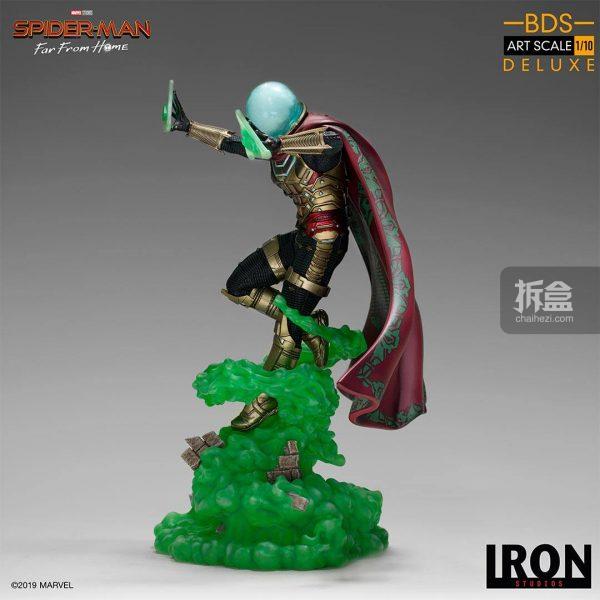 Iron Studios 漫威電影《蜘蛛俠:英雄遠征》神秘客1:10雕像 10