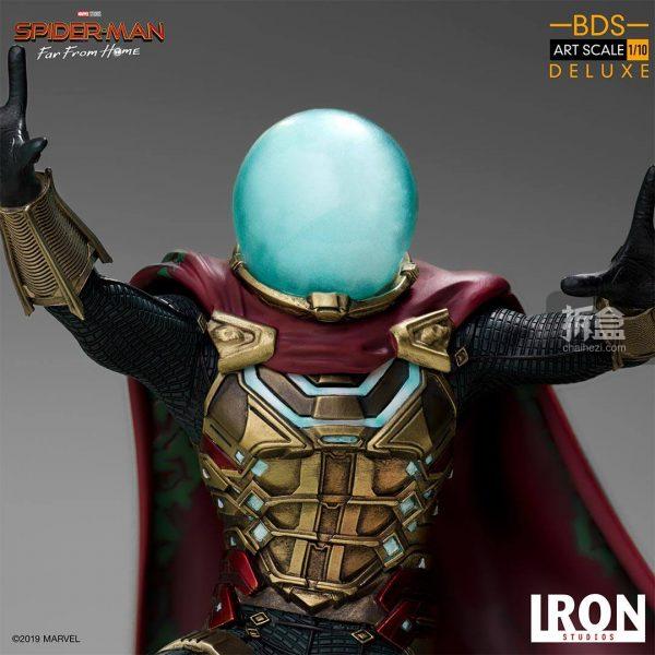 Iron Studios 漫威電影《蜘蛛俠:英雄遠征》神秘客1:10雕像 11
