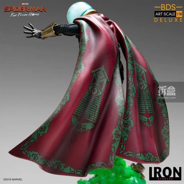Iron Studios 漫威電影《蜘蛛俠:英雄遠征》神秘客1:10雕像 12