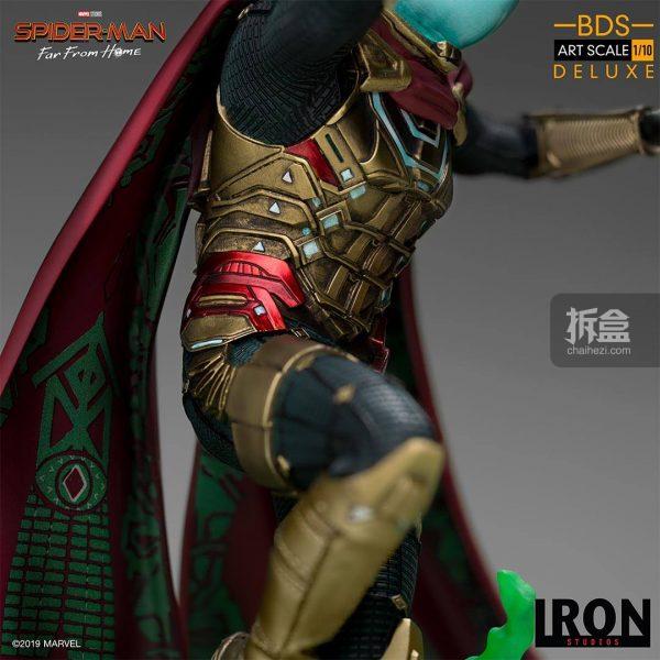 Iron Studios 漫威電影《蜘蛛俠:英雄遠征》神秘客1:10雕像 13