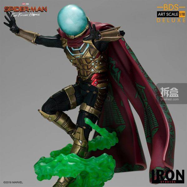 Iron Studios 漫威電影《蜘蛛俠:英雄遠征》神秘客1:10雕像 14