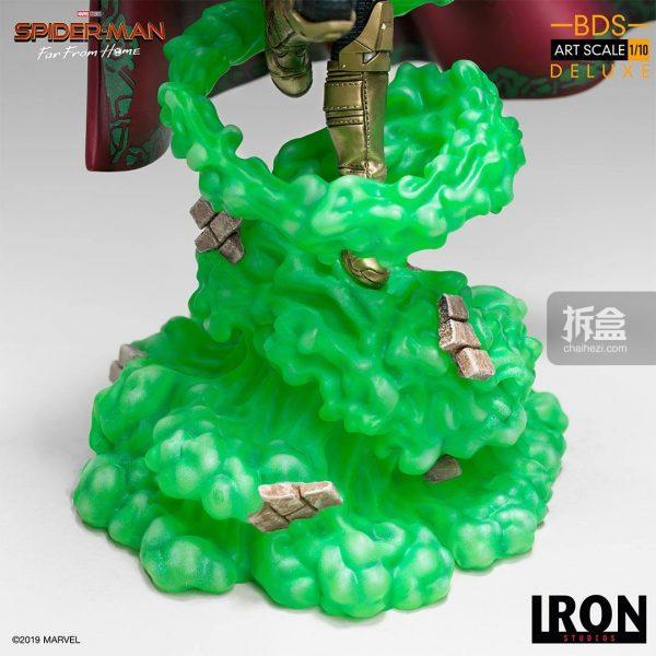 Iron Studios 漫威電影《蜘蛛俠:英雄遠征》神秘客1:10雕像 16