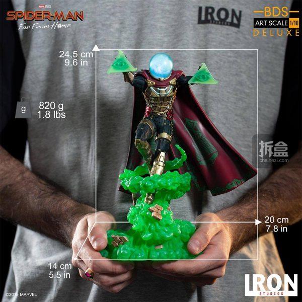 Iron Studios 漫威電影《蜘蛛俠:英雄遠征》神秘客1:10雕像 19