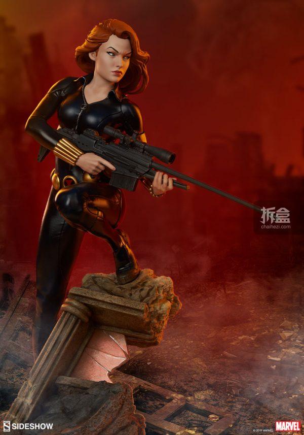 Sideshow 漫威漫畫 黑寡婦Black Widow1:5雕像 1