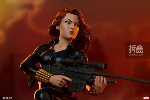 Sideshow 漫威漫畫 黑寡婦Black Widow1:5雕像 2
