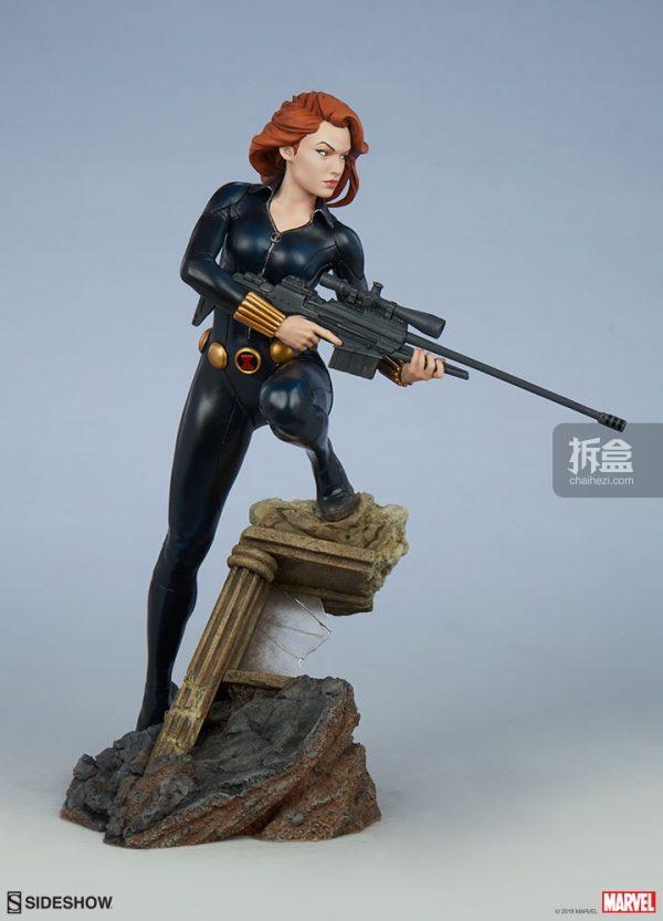 Sideshow 漫威漫畫 黑寡婦Black Widow1:5雕像 4