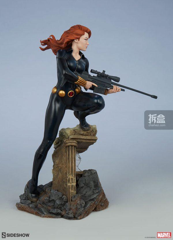 Sideshow 漫威漫畫 黑寡婦Black Widow1:5雕像 5