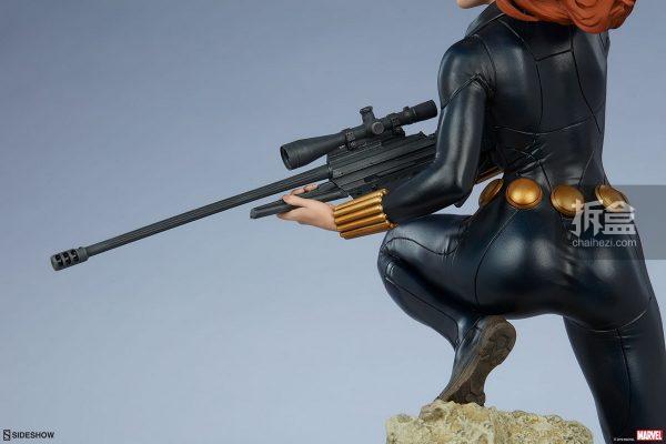 Sideshow 漫威漫畫 黑寡婦Black Widow1:5雕像 9