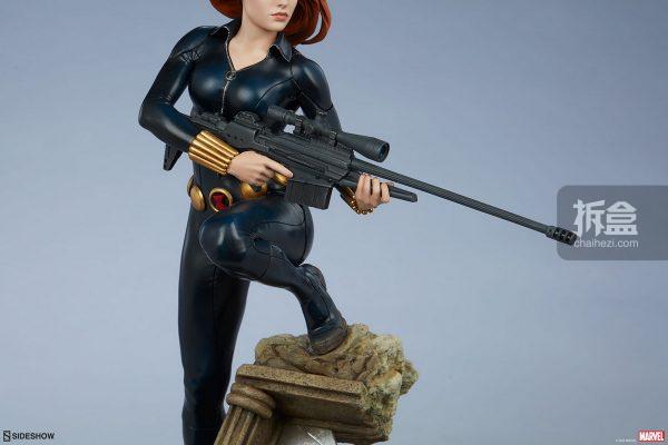 Sideshow 漫威漫畫 黑寡婦Black Widow1:5雕像 10
