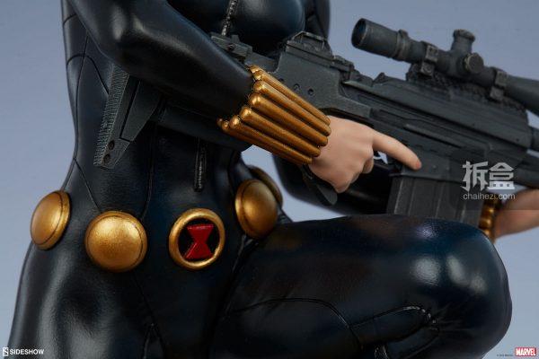 Sideshow 漫威漫畫 黑寡婦Black Widow1:5雕像 11