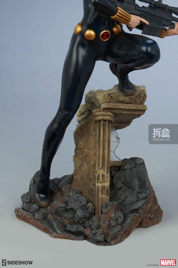 Sideshow 漫威漫畫 黑寡婦Black Widow1:5雕像 15