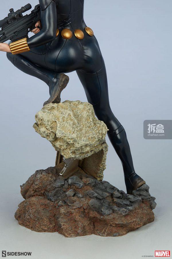 Sideshow 漫威漫畫 黑寡婦Black Widow1:5雕像 16