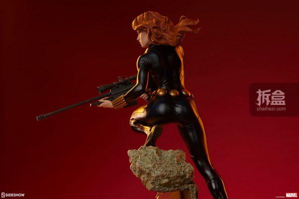 Sideshow 漫威漫畫 黑寡婦Black Widow1:5雕像 17