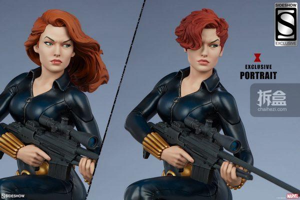 Sideshow 漫威漫畫 黑寡婦Black Widow1:5雕像 19