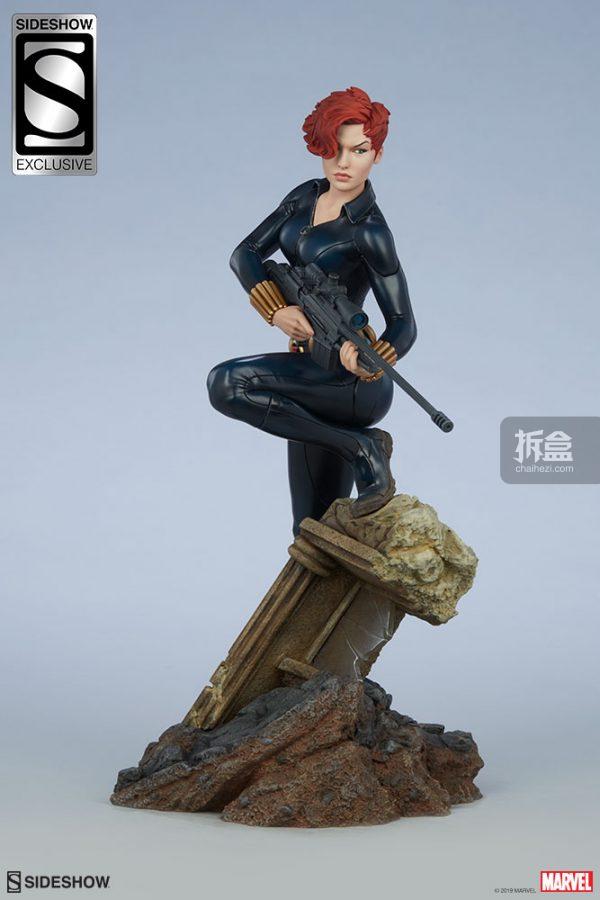 Sideshow 漫威漫畫 黑寡婦Black Widow1:5雕像 20