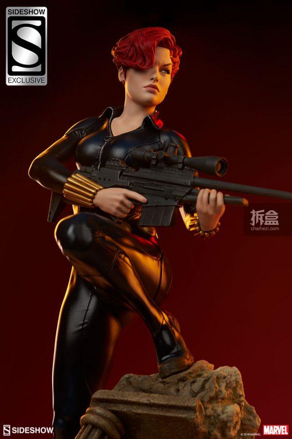 Sideshow 漫威漫畫 黑寡婦Black Widow1:5雕像 21
