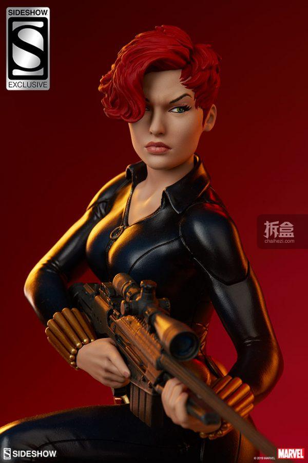 Sideshow 漫威漫畫 黑寡婦Black Widow1:5雕像 22