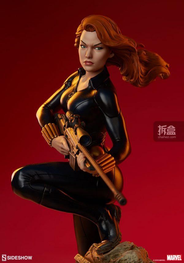 Sideshow 漫威漫畫 黑寡婦Black Widow1:5雕像 23