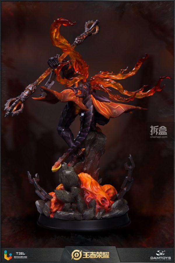 DAMTOYS × 騰訊《王者榮耀》地獄火-孫悟空 鋒芒榮耀典藏版1:8雕像 3