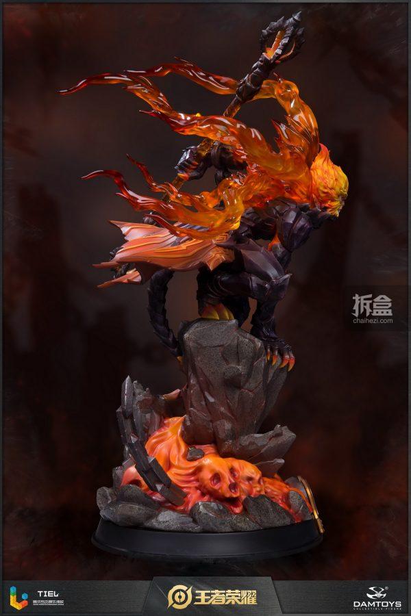 DAMTOYS × 騰訊《王者榮耀》地獄火-孫悟空 鋒芒榮耀典藏版1:8雕像 5