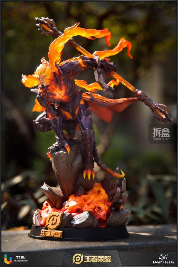 DAMTOYS × 騰訊《王者榮耀》地獄火-孫悟空 鋒芒榮耀典藏版1:8雕像 17