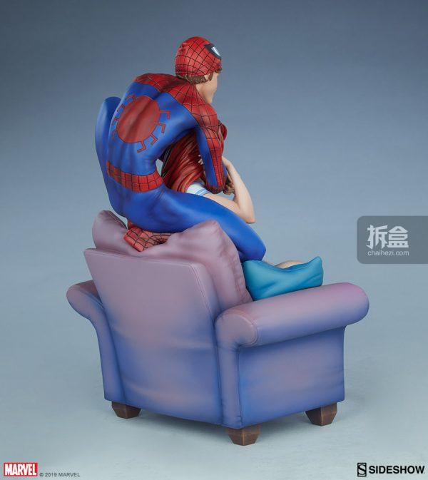Sideshow 漫威漫畫《神奇蜘蛛俠:再續誓言》蜘蛛俠和瑪麗簡12.5寸雕像 13