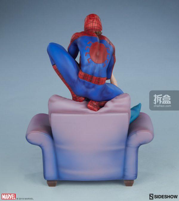 Sideshow 漫威漫畫《神奇蜘蛛俠:再續誓言》蜘蛛俠和瑪麗簡12.5寸雕像 14