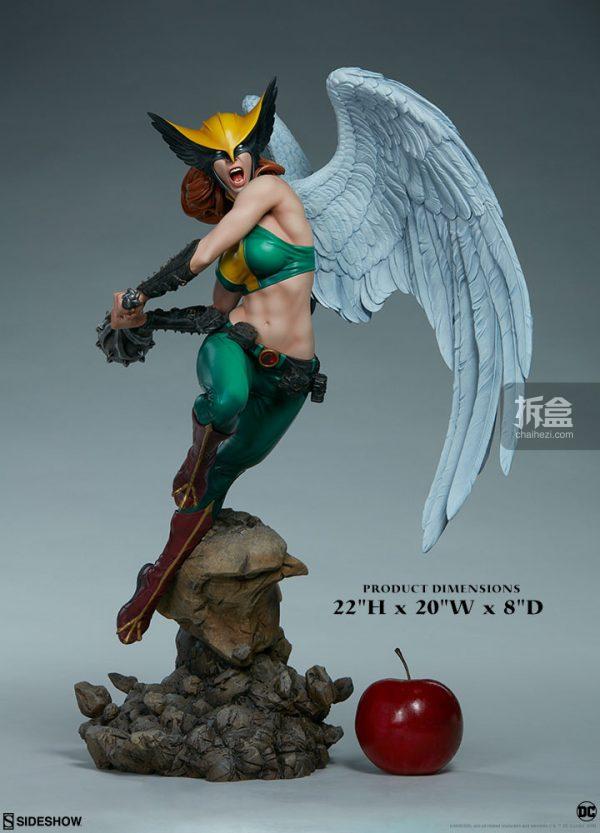 Sideshow DC超級英雄 Hawkgirl鷹女 22寸PF雕像 4