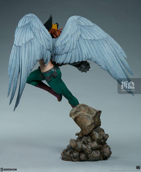 Sideshow DC超級英雄 Hawkgirl鷹女 22寸PF雕像 6