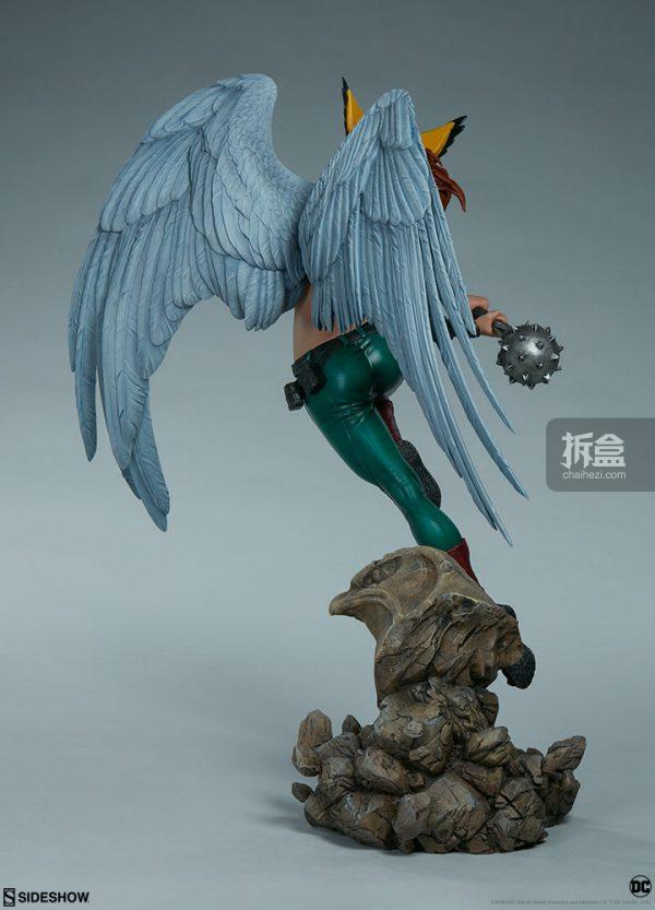 Sideshow DC超級英雄 Hawkgirl鷹女 22寸PF雕像 7
